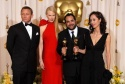 Daniel Craig and Nicole Kidman Best Art Direction Winner Eugenio Caballero and Set Decorator Pilar Revuelta (Pan's Labyrinth)
