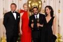 Daniel Craig and Nicole Kidman Best Art Direction Winner Eugenio Caballero and Set Decorator Pilar Revuelta (Pan's Labyrinth)