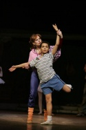 Sally Dexter and Layton Williams