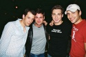 John Tartaglia, Max von Essen, Scott Nevins and Matthew Smith