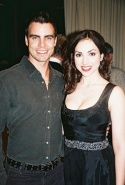Colin Egglesfield and Eden Riegel
