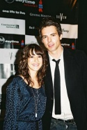 Kimberly McCullough (GH's Dr. Robin Scorpio) and Jason Thompson (GH's Patrick Drake)