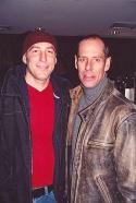 Paul Dobie (Director) and Friend