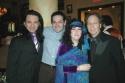 Luis Vilabon, Joel Froomkin, Barbara Siegel and Scott Siegel