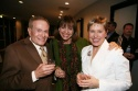 Jerry Herman, Valerie Harper and Amber Edwards Photo