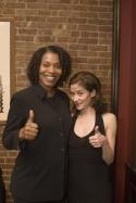 Cheryl Alexander (Julia) and Megan McGettigan (Barbara) Photo