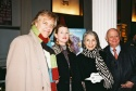 Peter Martins, Darci Martins, and Pat Schoenfeld and Gerald Schoenfeld