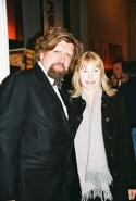 Oskar Eustis (Artistic Director, Public Theater) and Victoria Tennant Photo