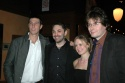 Pablo Schreiber, Christopher Shinn, Rebecca Brooksher and James McDonald