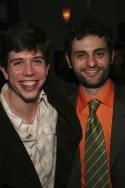 Stephen Karam (writer of Colombinus) and Arian Moayed Photo