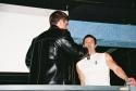 """Roger Rosen (""""Medusa's Statue"""" Photo Shoot Promo for """"Broadway Bares 2007"""") and Christopher Sieber"""