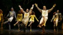 "John O'Hurley, Justin Brill and the Las Vegas cast of ""Spamalot"""