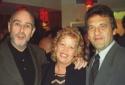 Claude-Michel Schonberg, Margaret Vermette and Alain Boublil Photo