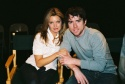 Clare Kramer and Christian Campbell
