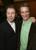 Director Leonard Foglia and Bronson Pinchot