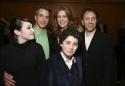 (L-R) Emma Hunton, Bronson Pinchot, Rita Wilson, Hudson Thames and Director Leonard Foglia