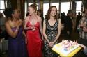 Stephanie Berry, Johanna Day and Marita Geraghty celebrate Marita's birthday