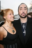 David Gest and girlfriend