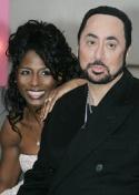 Sinitta and David Gest