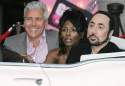 David Ian, Sinitta and David Gest