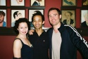 Mary Ann Lamb (Curtains), Dennis Lue (The Lion King) and Brad Anderson (A Chorus Line)