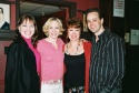 Suzie Jary, Charlotte D'Amboise (A Chorus Line), Donna McKechnie (A Chorus Line original cast member) and Noah Racey (Curtains)