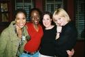 Judine Somerville (Hairspray), Michelle Marie Robinson (Chicago), Karen Ziemba (Curtains) and Caitlin Carter