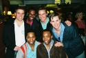 Todd Michel Smith (Hairspray), Arbender Robinson (Hairspray), Bryan West (Hairspray), Andrew Rannells (Hairspray), Abdul Latif (Hairspray) and Tommar Wilson (LeStat)