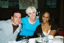 Matthew Farber (Mamma Mia!), Collette Simmons (Mamma Mia!) and Joi Danielle Price (Mamma Mia!)