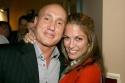 Gianni Valente, owner of Birdland, with Hilary Kole