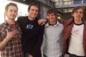 Brandon Bales, Ryan J. Davis, Justin Lamb and Joe Drymala (cast members and producers)