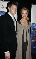 Josh Stolz and Joan Allen