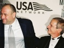 Soprano's James Gandolfini and Ron