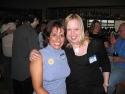 Event Organizer Julie Stevens and Ali Hofflich