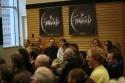 (At the back) Robert R. Oliver, John Deyle, Martin Vidnovic, Nick Spangler, Burke Moses, Douglas Ullman, Jr. and Julie Craig