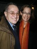 Alan Dershowitz and wife