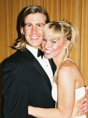 Gavin Creel and Angela Gaylor Photo