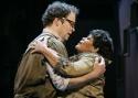 Shuler Hensley as George Antrobus and Yvette Freeman as Maggie Antrobus