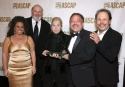 Marissa Jaret Winokur, Rob Reiner, ASCAP President and Chairman Marilyn Bergman, Marc Shaiman and Billy Crystal