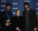 Erran Baron Cohen, ASCAP President and Chairman Marilyn Bergman and Sacha Baron Cohen