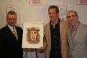 Max Klimavicius (Sardi's owner), Steve Blanchard and Robert Jess Roth Photo