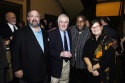 Peter Robbins, John Kander, Tazewell Thompson, and Jody Robbins, Playhouse board of trustees member and one of the production sponsors
