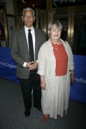 Julian Bond and wife