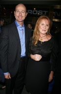 Sarah Ferguson and guest