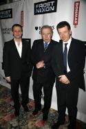 Michael Grandage, David Frost and Peter Morgan Photo