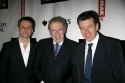 Michael Grandage, David Frost and Peter Morgan