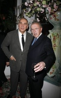 Frank Langella and David Frost