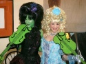 Lisa Brescia and Katie Adams (Glinda standby)