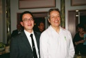 Ralph Pena (Ma-Yi Theater Company's Artistic Director) and Jorge Ortoll (Ma-Yi Theater Company's Executive Director)