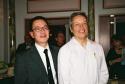 Ralph Pena (Ma-Yi Theater Company's Artistic Director) and Jorge Ortoll (Ma-Yi Theater Company's Executive Director)